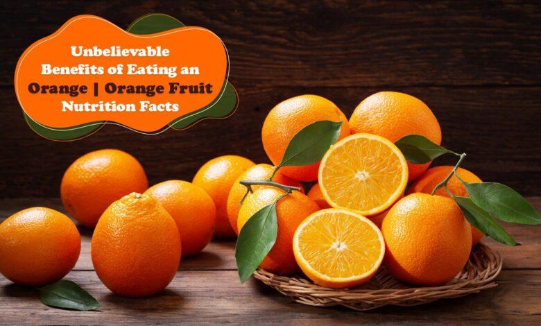 Benefits of Orange, Himsedpills