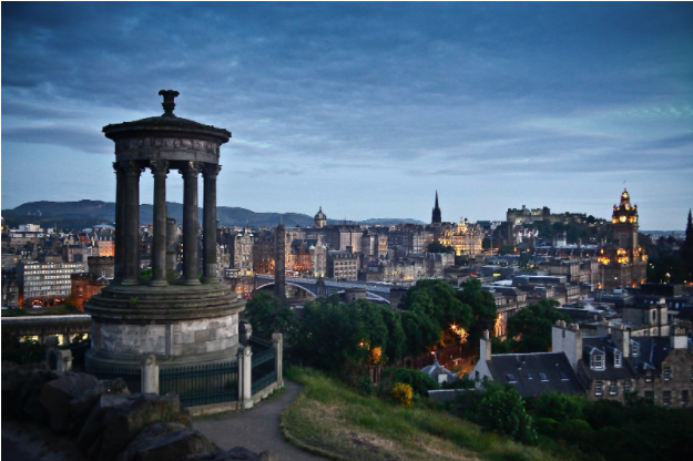 It's Time to Dine In Edinburgh