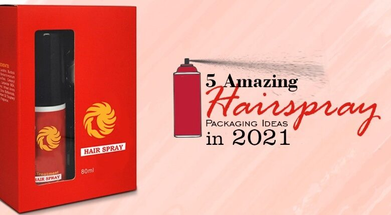 Hairspray Packaging