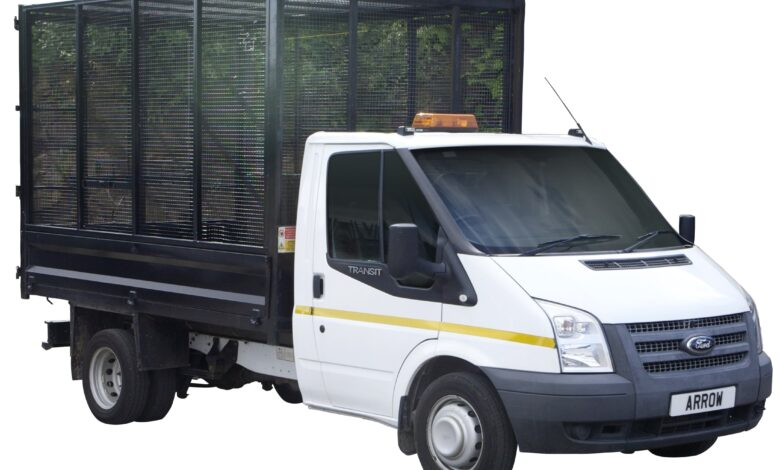 cage van hire london