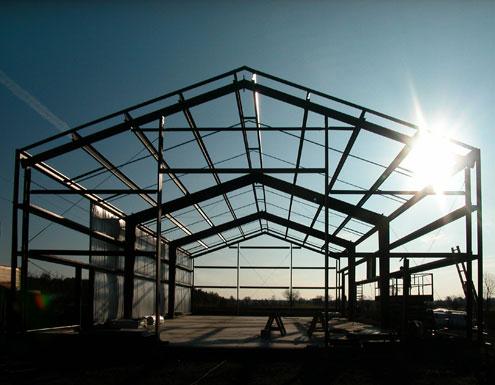 prefabricated steel