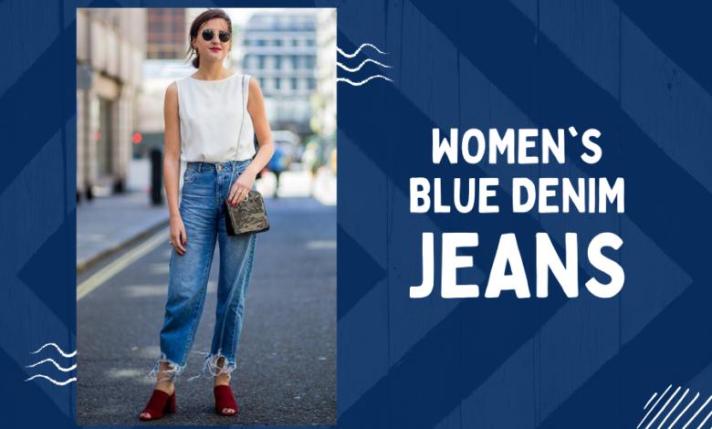 blue denim jeans womens