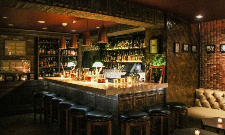 Cuban bar Collins Ave Miami