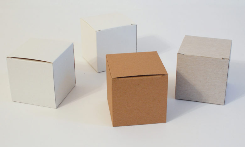 Cube Boxes Cardboard