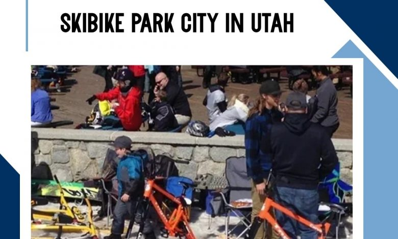 SKIBIKE park city in Utah