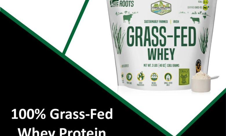 100% Grass-Fed Whey Protein