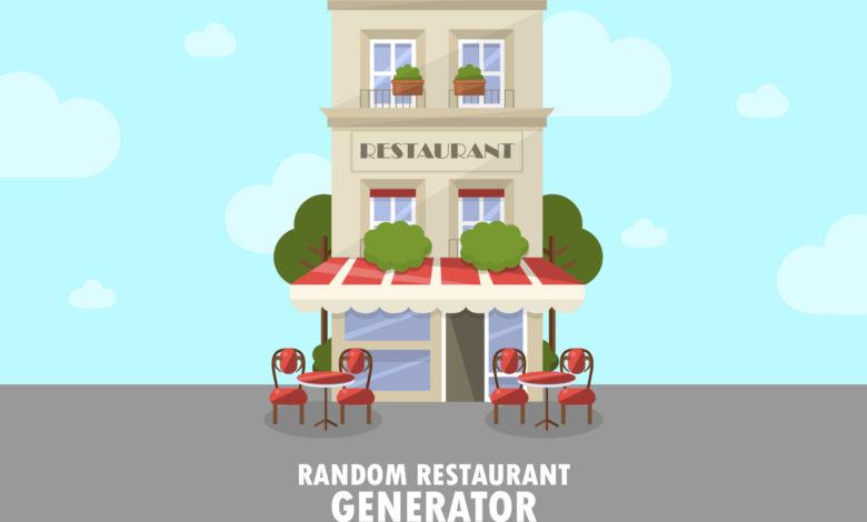 restaurant random name generator